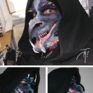 Blue Dragon Mask - Special Effects Makeup