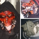 Red Dragon Mask - Special Effects Makeup