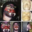 Snake Mask - Special Effects Makeup